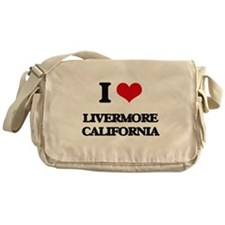 I love Livermore California Messenger Bag