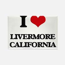 I love Livermore California Magnets
