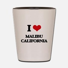 I love Malibu California Shot Glass