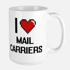I love Mail Carriers Mugs