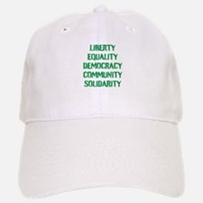 liberty equality (green) Baseball Baseball Cap