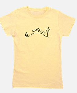 ralley rally coach racing offroad Girl's Tee