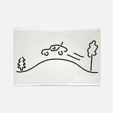 ralley rally coach racing offroad Magnets