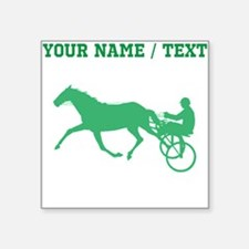 Green Harness Racing (Custom) Sticker