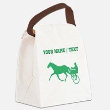 Green Harness Racing (Custom) Canvas Lunch Bag