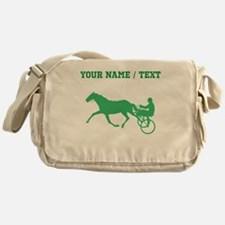 Green Harness Racing (Custom) Messenger Bag