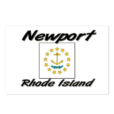 Newport Rhode Island Postcards (Package of 8)