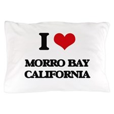 I love Morro Bay California Pillow Case