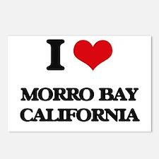 I love Morro Bay Californ Postcards (Package of 8)