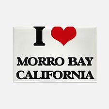 I love Morro Bay California Magnets