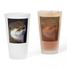 Sea Otter Drinking Glass