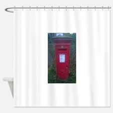 postbox Shower Curtain