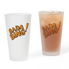 The Sopranos: Badda Bing Drinking Glass