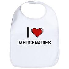 I love Mercenaries Bib