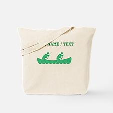 Green Canoeing (Custom) Tote Bag