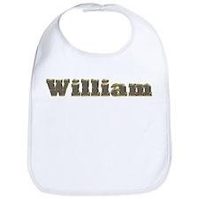 William Gold Diamond Bling Bib