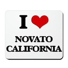 I love Novato California Mousepad