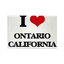 I love Ontario California Magnets