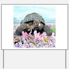 Cute Tortoise Yard Sign
