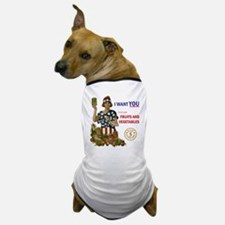 """""""Fruits and Vegetables"""" Dog T-Shirt"""