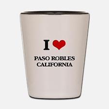 I love Paso Robles California Shot Glass