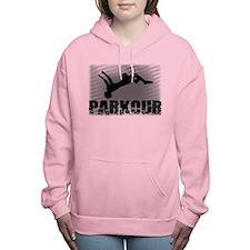 Parkour athlete Women's Hooded Sweatshirt