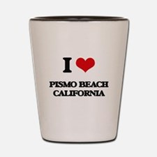 I love Pismo Beach California Shot Glass