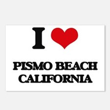 I love Pismo Beach Califo Postcards (Package of 8)