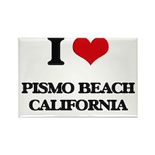I love Pismo Beach California Magnets