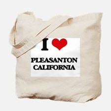 I love Pleasanton California Tote Bag