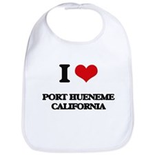 I love Port Hueneme California Bib
