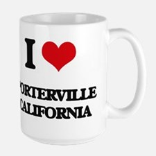 I love Porterville California Mugs