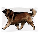Leonberger dog Pillow Cases