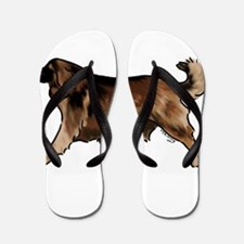 leonberger Flip Flops