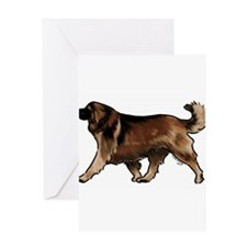 leonberger Greeting Cards