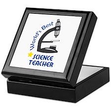 BEST SCIENCE TEACHER Keepsake Box