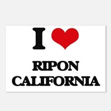 I love Ripon California Postcards (Package of 8)