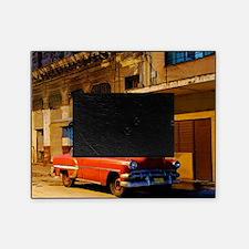 Classic American car at Dawn, Havana Picture Frame