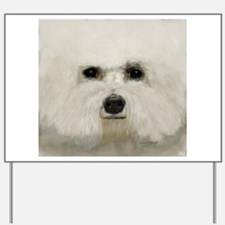 bichon frise Yard Sign