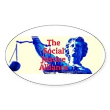 The Social Justice Alliance Logo Decal