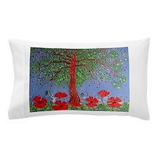Summer Poppies Pillow Case