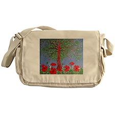 Summer Poppies Messenger Bag