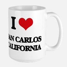I love San Carlos California Mugs