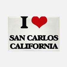 I love San Carlos California Magnets