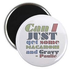 The Sopranos Macaroni and Gravy Magnet