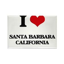 I love Santa Barbara California Magnets