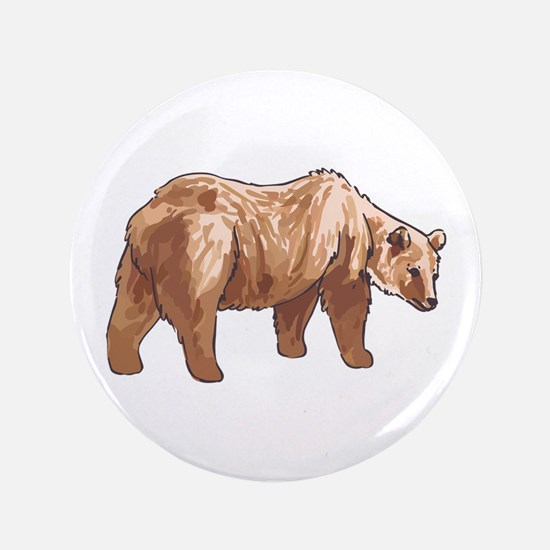 """GRIZZLY BEAR 3.5"""" Button"""