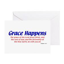Grace Happens Greeting Card
