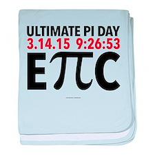 Ultimate Epic Pi Day baby blanket