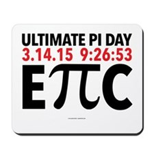 Ultimate Epic Pi Day Mousepad